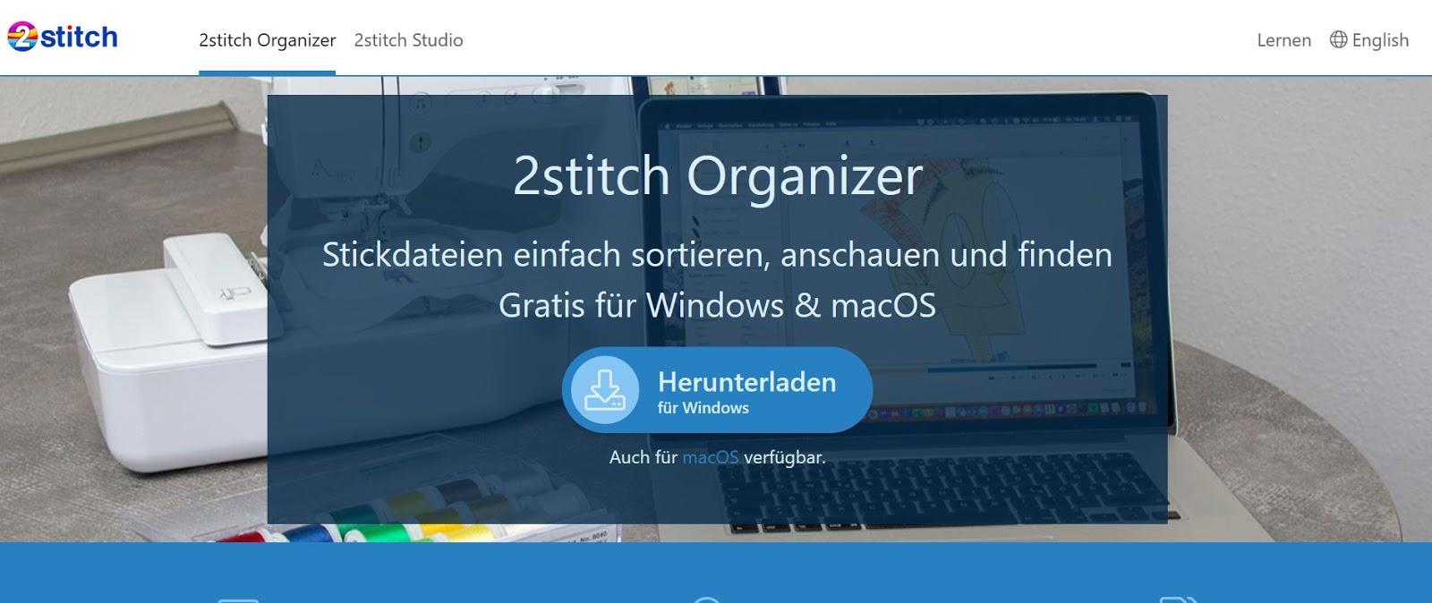Sticktipps: Stickdateien anzeigen und sortieren II 2stich Organizer