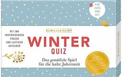 Rezension: Erzähl mal! Winterquiz: Das gemütliche Spiel für die kalte Jahreszeit. Mit 100 inspirierenden Fragen und lustigen Aufgaben #blogvent2020 Bücher