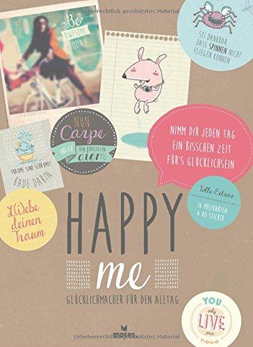 Rezension: Happy me Glücklichmacher für den Alltag – Geschenkbuch
