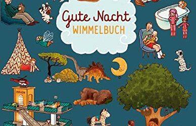 Rezension: Gute Nacht Wimmelbuch