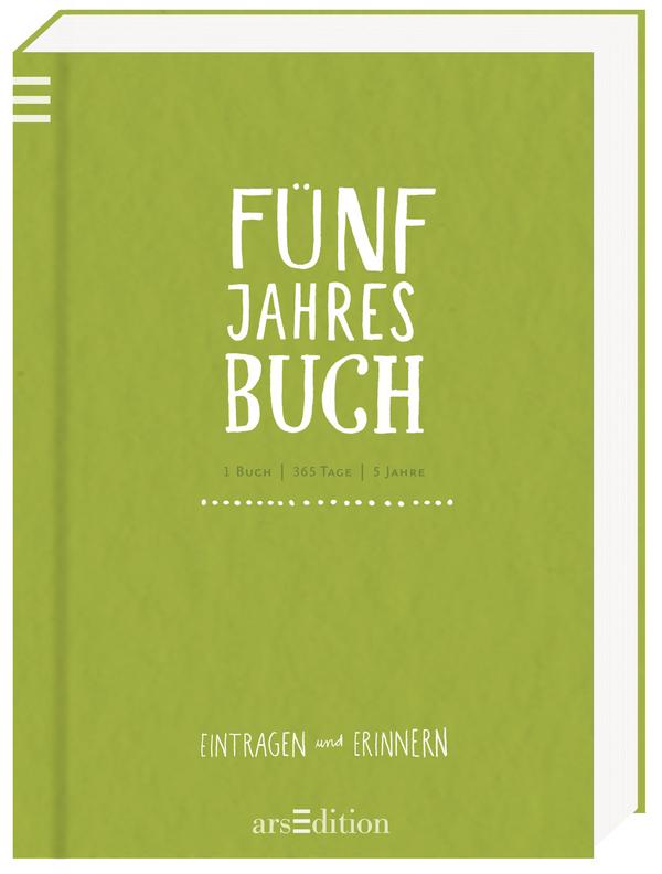 Rezension & Schönstes Buchgeschenk zu Weihnachten: Fünf-Jahres-Buch