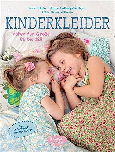Rezension: Kinderkleider: nähen für Größe 86 bis 128. Mit 2 Schnittmusterbogen