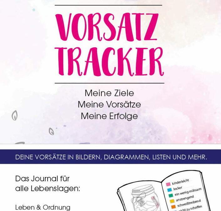 Rezension: Vorsatz Tracker. Meine Ziele – Meine Vorsätze – Meine Erfolge