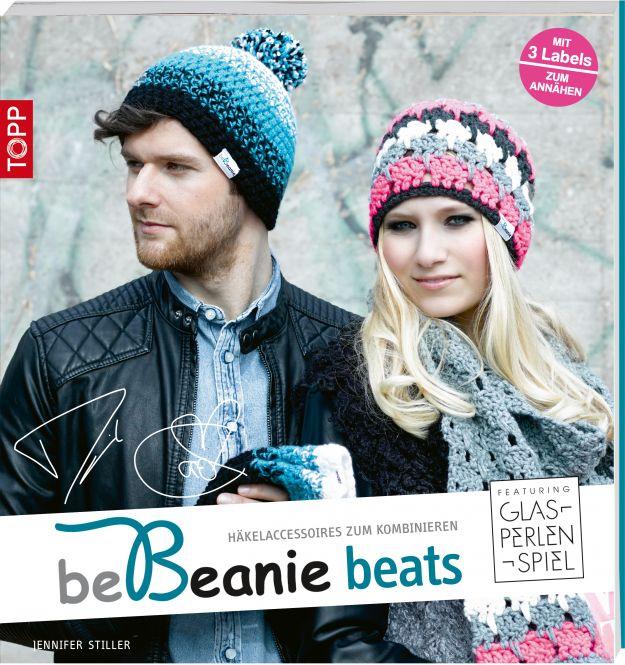 Rezension: beBeanie beats. Featuring Glasperlenspiel: Häkelaccessoires zum Kombinieren