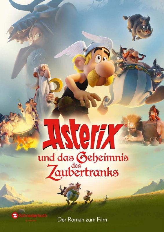 Rezension: Asterix und das Geheimnis des Zaubertranks: Der Roman zum Film