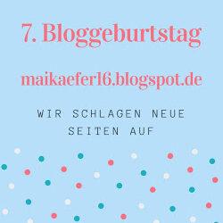 Buchparty-Bloggeburtstag bei Maikaefer16