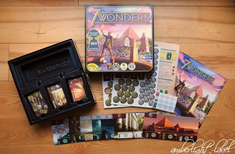 Werbung / Anzeige: 7 Wonders von Asmodee Spiel(zeug)rezension