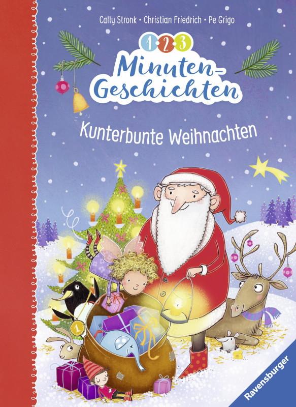 Rezension: 1-2-3 Minutengeschichten: Kunterbunte Weihnachten