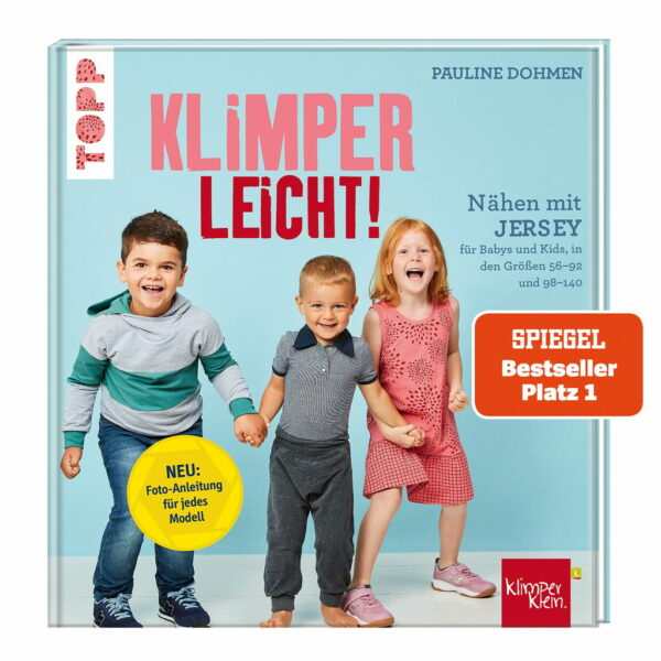 Rezension: Nähen mit Jersey – KLIMPERLEICHT: Für Babys und Kids in den Größen 56-92 und 98-140