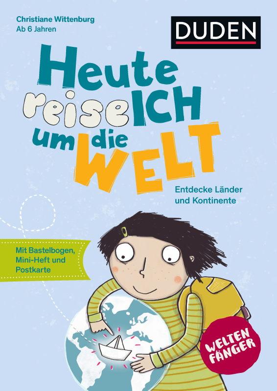 Rezension: Weltenfänger: Heute reise ich um die Welt: Weltreise und Mein kunterbuntes Buch über mich: Kreativbuch