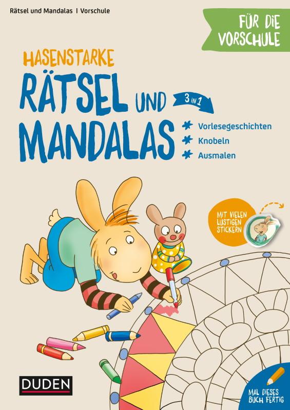 Rezension: Hasenstarke Rätsel und Mandalas für die Vorschule: Knobeln – Rätseln – Malen