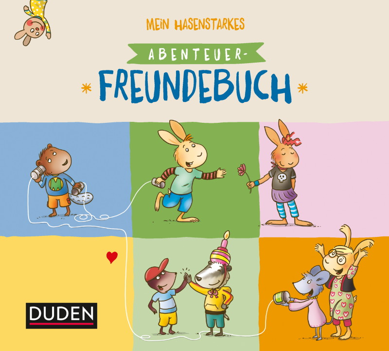 Rezension: Mein hasenstarkes Abenteuer-Freundebuch