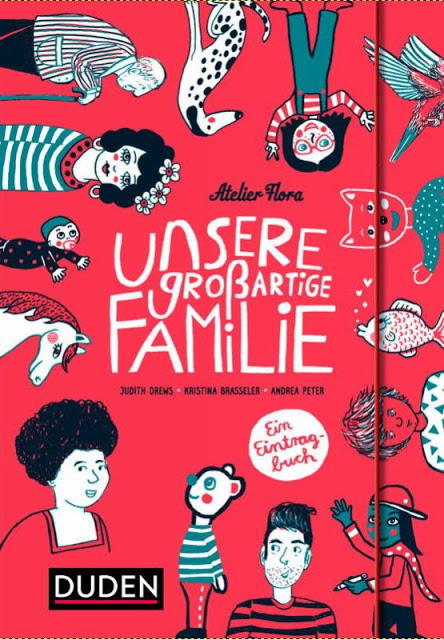 Rezension: Unsere großartige Familie: Ein Eintragbuch