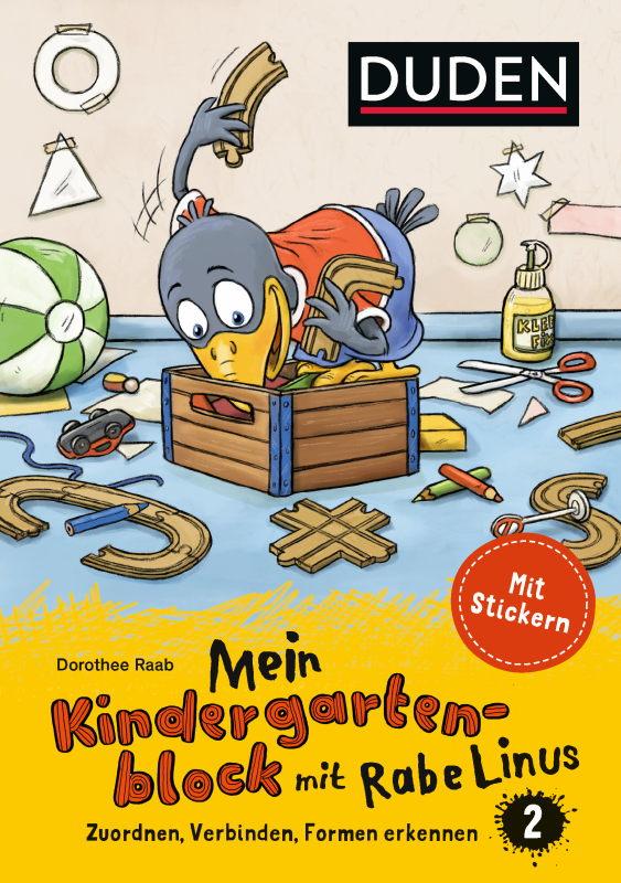 Rezension: Mein Kindergartenblock mit Rabe Linus Teil 1 und Teil 2