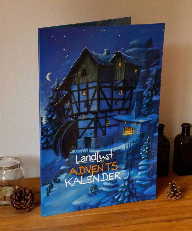 Rezension: Landlust – Adventskalender