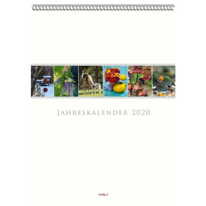 Rezension: Landlust – Jahreskalender 2020