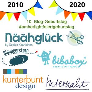Erinnerung 10. Bloggeburtstag #amberlightfeiertgeburtstag