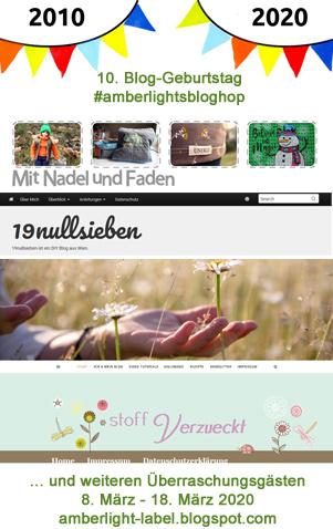 10. Bloggeburtstag #amberlightsbloghop