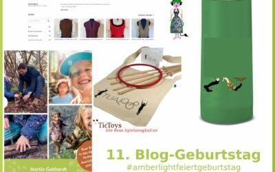 Gewinner 11. Bloggeburtstag #amberlightfeiertgeburtstag
