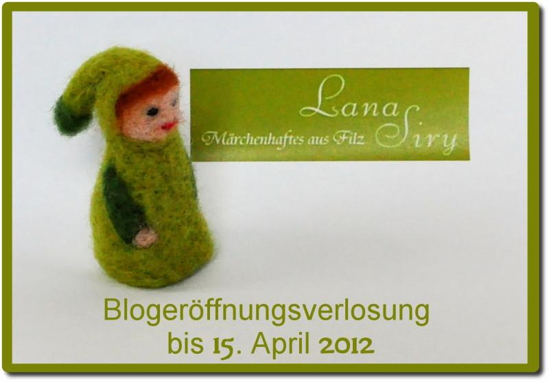 Blogeröffnungsverlosung bei Lana Siry