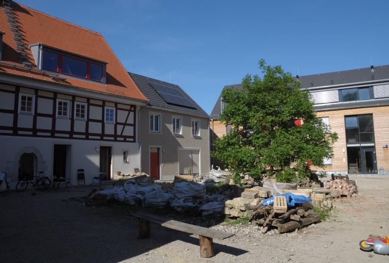 Jahreszeitenblick Projekt Vierseithof Frühling 2017