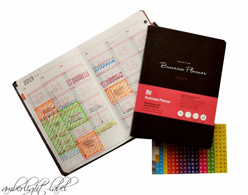 Kalender Weekview 2019 2020 Planer