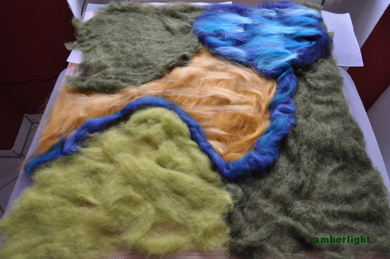 Projekt: Spieleteppich aus Filz I