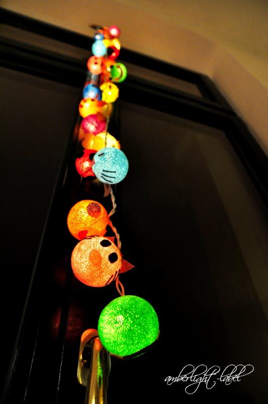 Loslassen: Lichterkette zur Partydeko