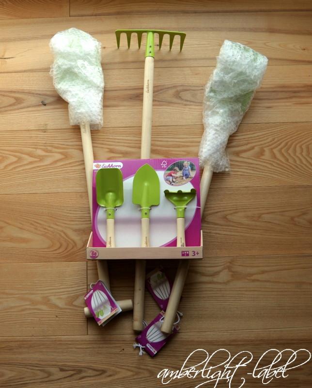 Spiel(zeug)rezension: Gartenwerkzeug von Eichhorn