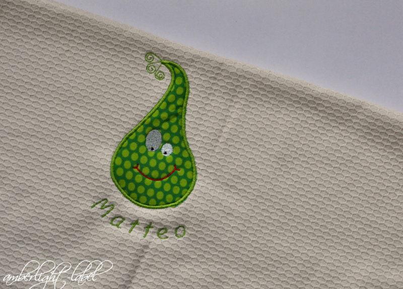 Weihnachtsgeschenk Handtuch mit Namen
