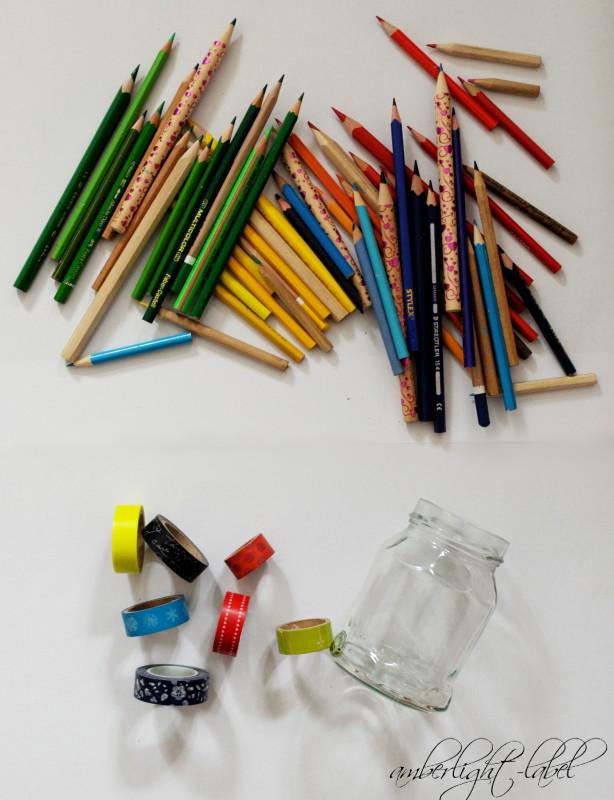 Schulkind Ordnung Schreibtisch Stifte sortieren