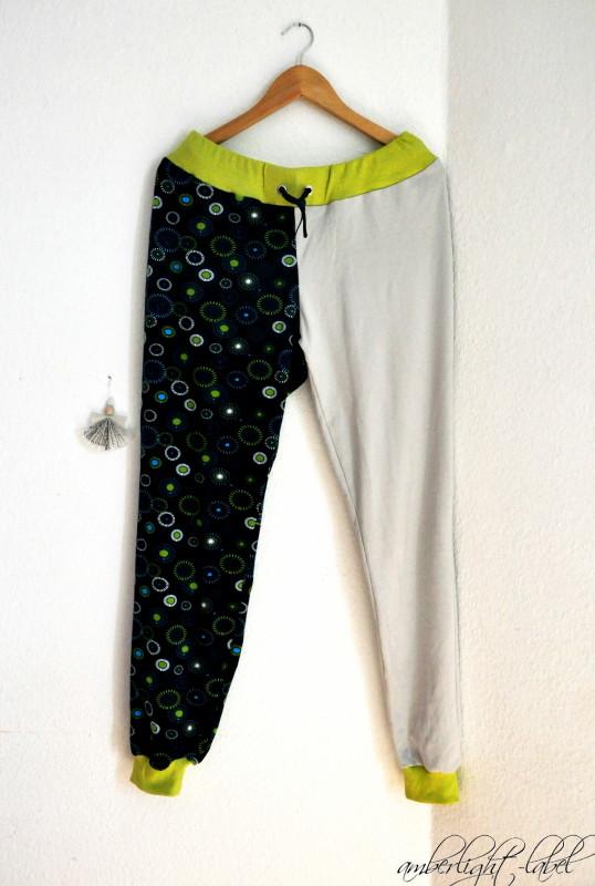 Ki-ba-doo: Basicschnitt Sweat-Hose Schlafanzug