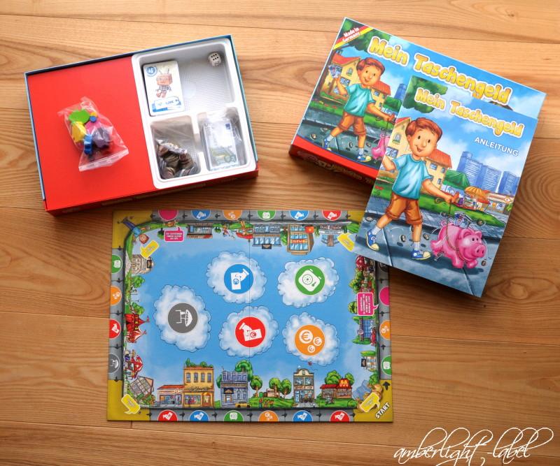 Spiel(zeug)rezension: Noris Spiele – Mein Taschengeld, Brettspiel