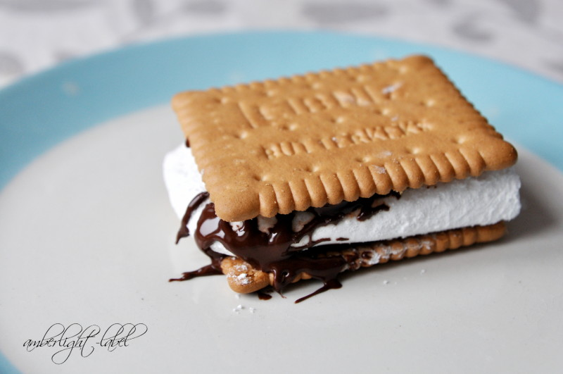 My Monday Mhhhhhh Kindergeburtstag: Marshmallow-Kekse S'mores