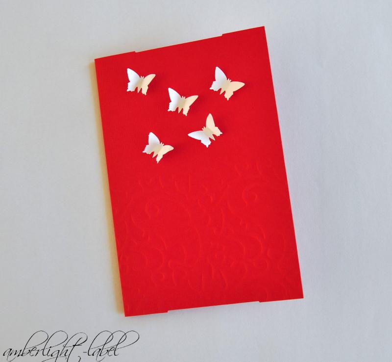 Schmetterlingskarte