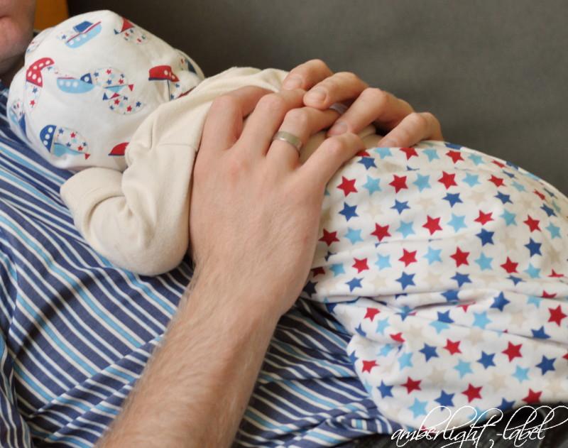Bindemütze Alles Jersey, KU 36 #sichereGeburt erster Lebenstag Geburtsbericht