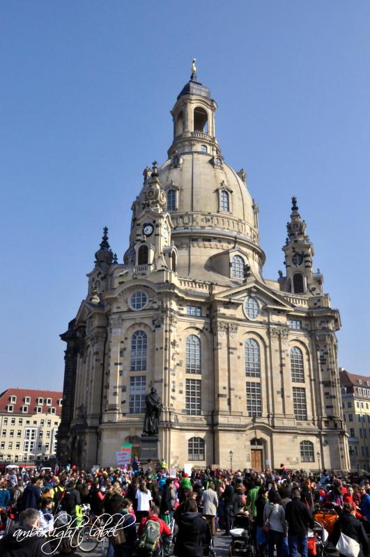 #elternprotest #hebammenprotest #selbstgeboren in Dresden