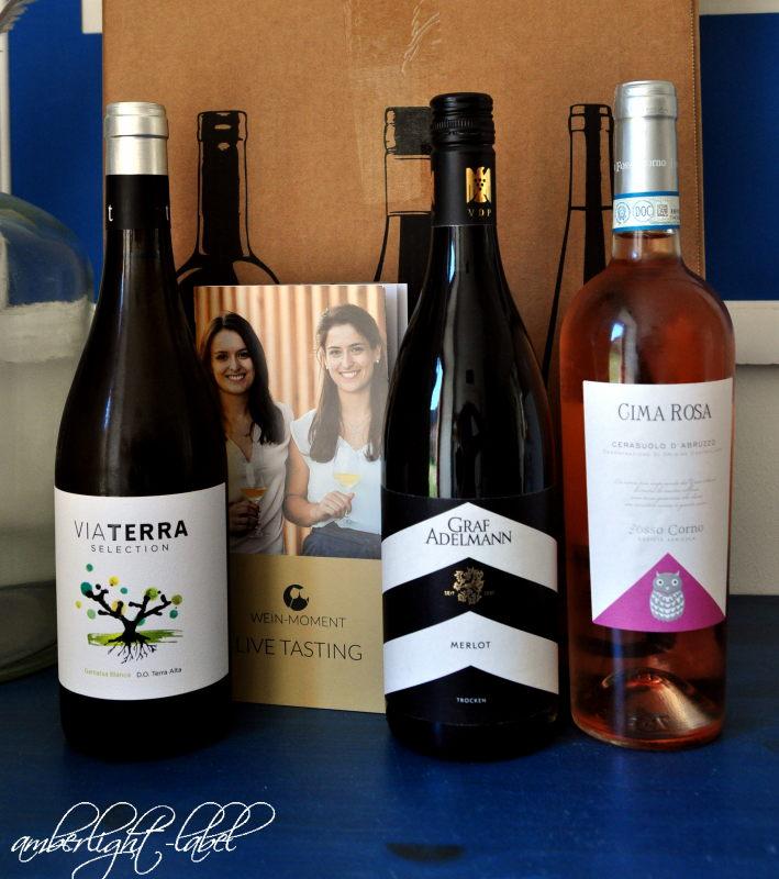 Männertagsgeschenk: Live Tasting von Wein-Moment