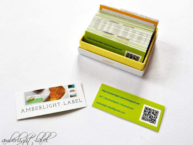 Vistitenkarten: Moo Cards IV