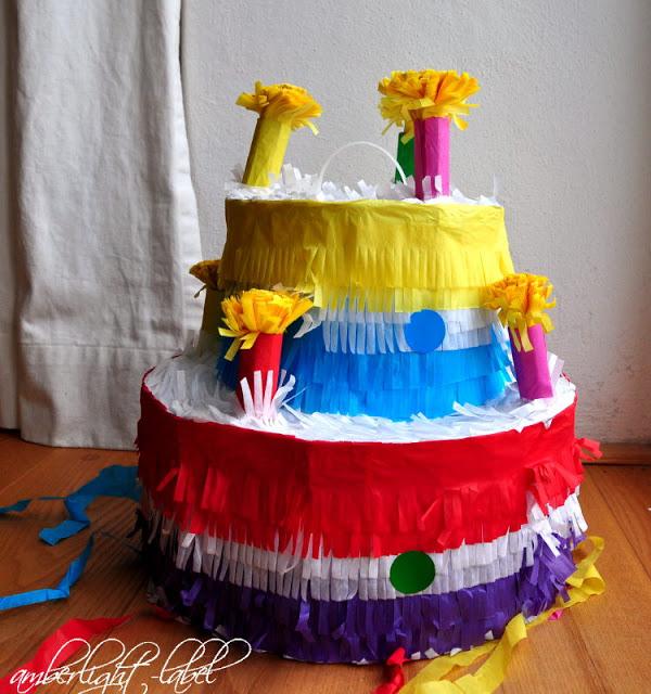 10. Geburtstag: Schmetterlingsgeburtstag Filzen Filzstifte Zauberaugen Piñata