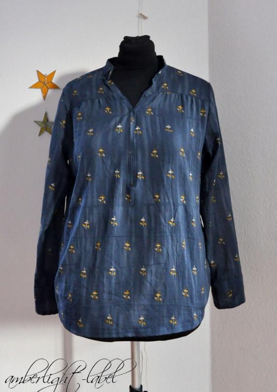 MMM: Damen Blusenshirt Webware lillesol women Nr. 6