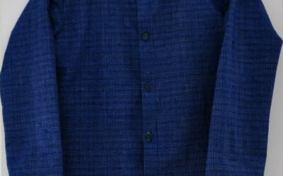 Schuleinführung 2020: Hemd Michel von Fabelwald Gr. 128 aus handgewebtem Stoff Xinchang Ancient Town