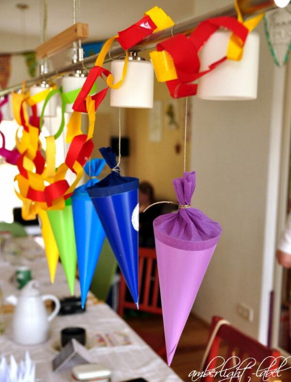 Schuleinführung 2020: Familienfeier und Spiele