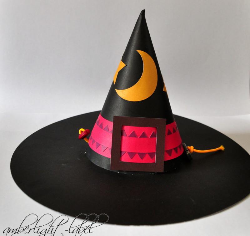 Zauberhut Plotter 3D Whitch Hat Silhouette Store