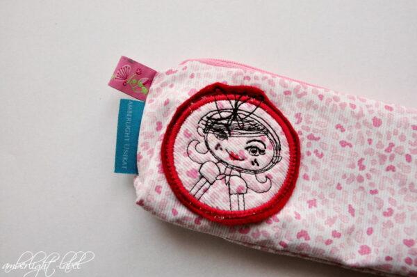 Kindergeburtstagseinladung Reißverschlusstasche