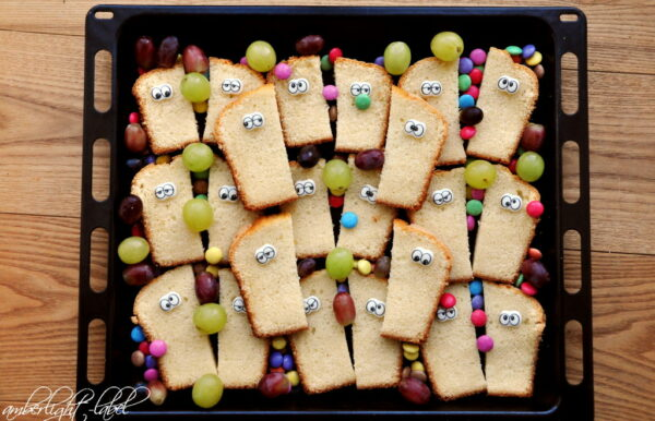 3. Geburtstag: Kindergartenkuchen mit Augen