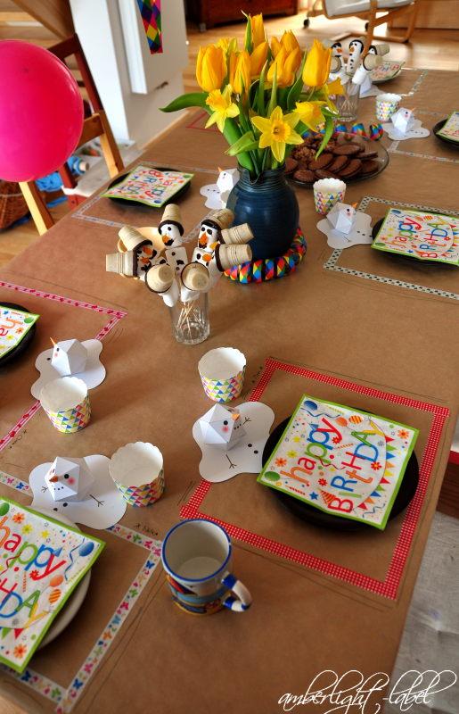 8. Geburtstag Kindergeburtstag Fangbecherspiel