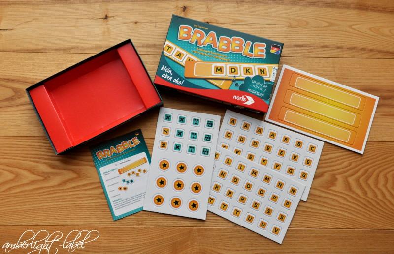Spielzeugrezension: Brabble von Noris