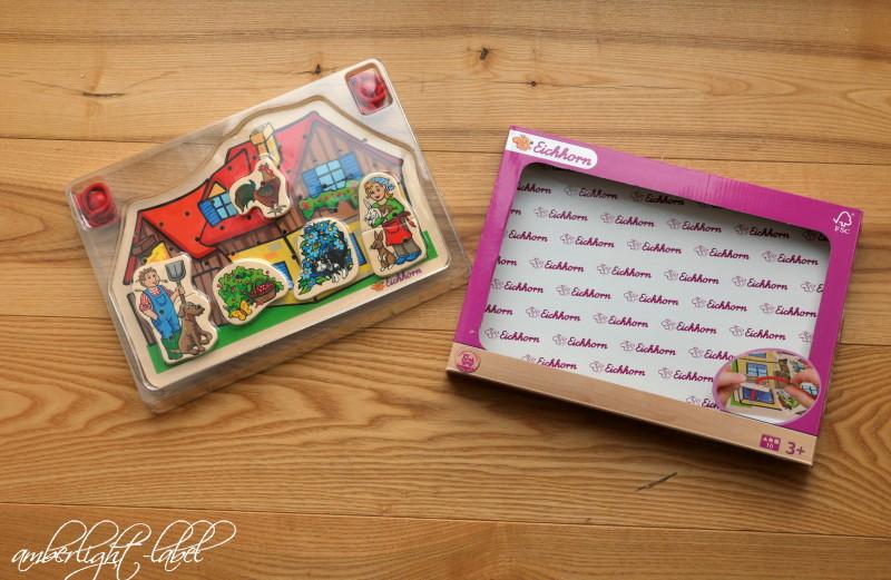 Spiel(zeug)rezension: Fädelspiel von Eichhorn
