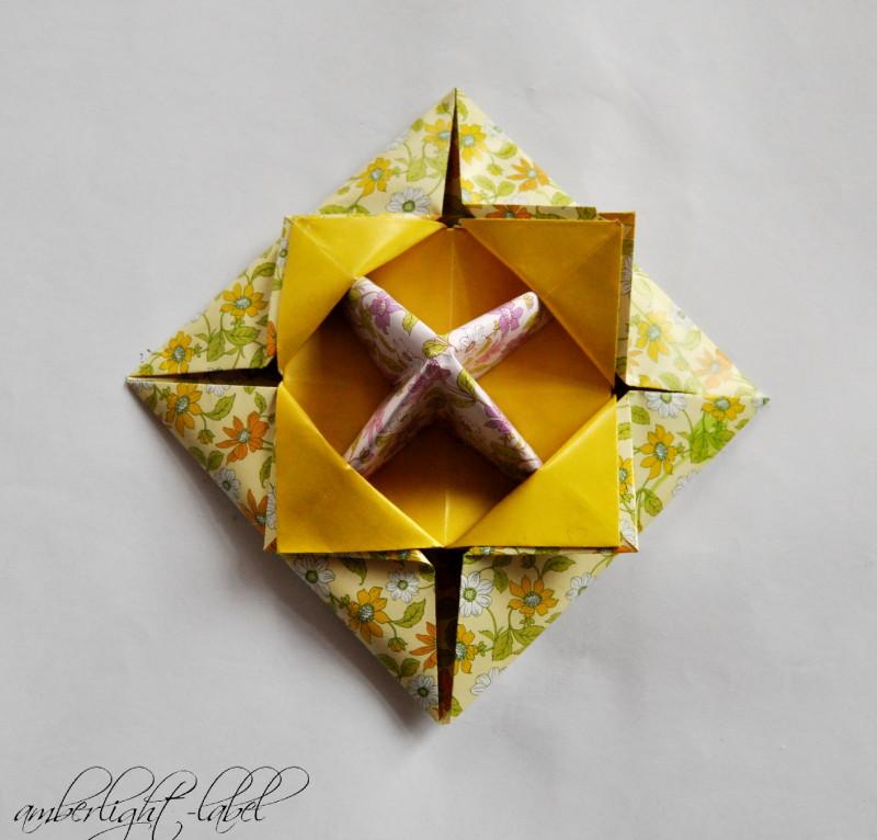 Freutag Frühlingskreisel Papier Origami
